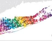 Long Island Pantone Map
