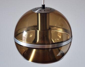 Space Age  Lamp 9-10 Inch Wide Space Age Dutch Design - Eames Panton Colani Era Mid Century Modern Vintage