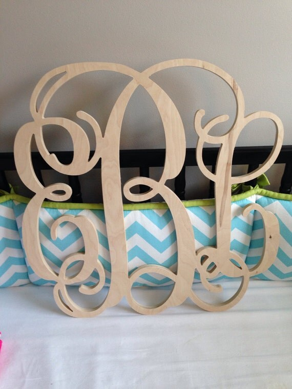 wood letters for wall wooden monogram wall hanging letters unpainted wood monogram 25668