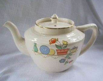 Vintage Arthur Wood, Made in England, Tea Pot