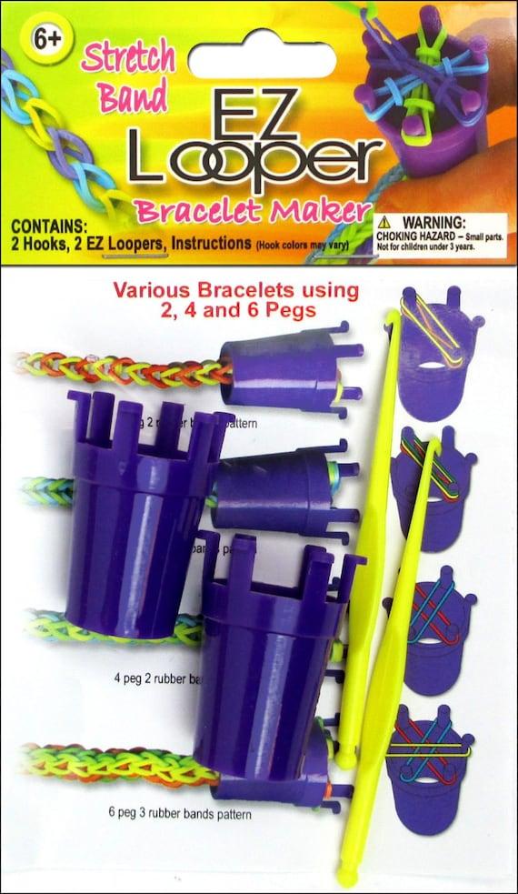 rubber band bracelet maker instructions