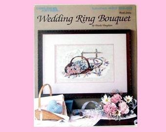 Wedding Ring Bouquet Cross Stitch Pattern by Paula Vaughan