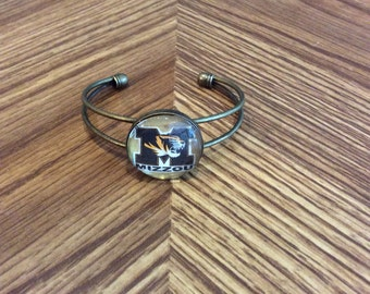 University of Missouri Inspired Bracelet