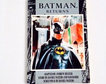 Vintage Batman Returns Movie Novel