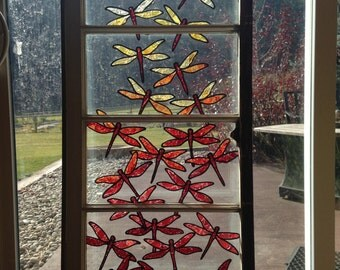 Warm Dragonflies-SOLD