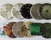 Steampunk, at a low price ... The dials of watches...RAKETA(5) and of different firms(6) a set of 11 pieces