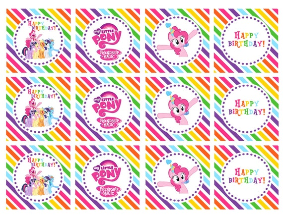 free printable my little pony invitations alesiinfo