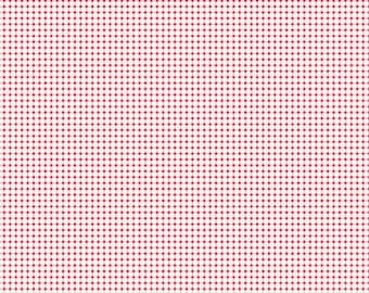 TILDA - Mini Gingham Red 1/2yd