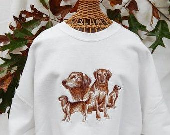 Golden Retriever Fleece Sweatshirt