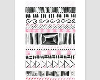 "Art print ""folklore No.34"""