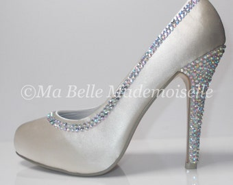 Swarovski Crystal Bridal Shoe's