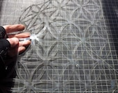 Flower of Life Wall Stencil