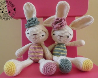 Crochet pattern - the Spring Bunny