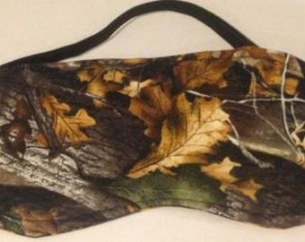 New Mossy Oak CAMO SLEEP MASK Eye Sleepwear Bedroom Hunting Clothes Camouflage