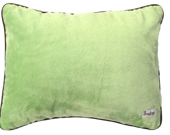 Sage & Brown Minky Baby Crib Bedding Nursery Pillow Cover