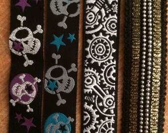 """SALE: 5/8"""" Ribbons not yet made, choose yours for 20% off the first Martingale or Quick Release Dog Collar"""