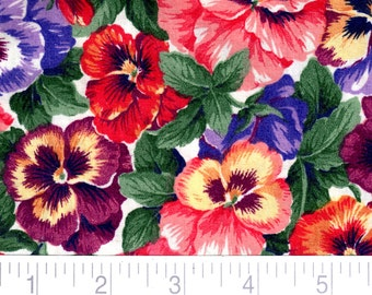 Pansies Cane Cover