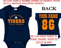 Popular items for detroit tigers baby on Etsy