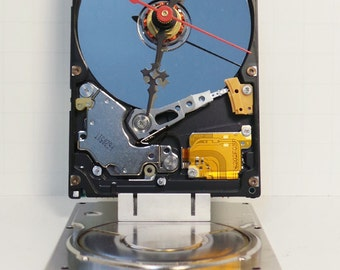 Laptop Harddrive Clock