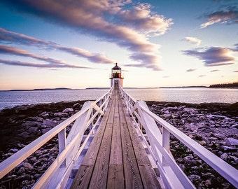 Marshall Point Lighthouse - Fine Art Photography - William Britten