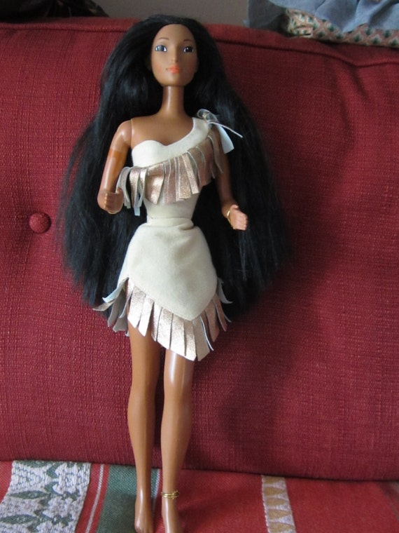 Disney Pocahontas 1976 18 Inch Doll In Original Costume