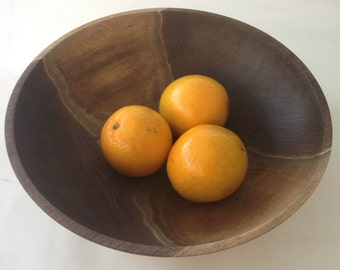 The WOW Factor Walnut Bowl