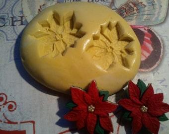 Poinsettia Flexible Silicone Mold
