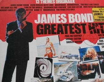 James Bond - Greatest Hits - vinyl record