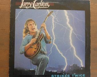Larry Carlton - Strikes Twice - vinyl record