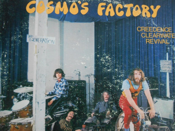 creedence clearwater revival cosmos factory vinyl record. Black Bedroom Furniture Sets. Home Design Ideas
