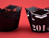2014 Graduation Cupcake Wrappers