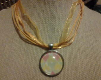 Beautiful Eco-Friendly Glass Dome Pendant Necklace FREE SHIPPING
