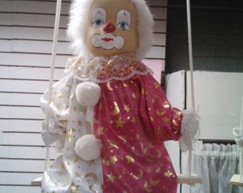 Vintage Clown Doll