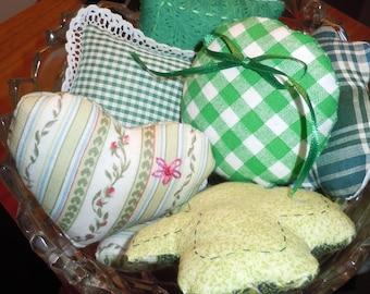 Bowl O' Green Fillers- Set of 7