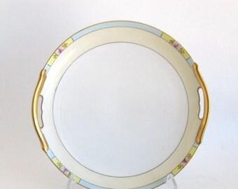 Meito China Cake Plate - Orlando Pattern