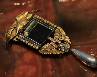 Fabulous Early Vintage Ermani Bulatti Brooch