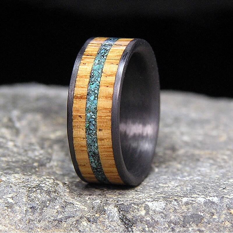 Useful Bands: Used Jack Daniel Distillery Whiskey Barrel Wood By