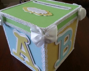 Pastel Money Card box / Gift Card Box