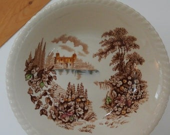 Johnson Brothers Dish or Serving Bowl. Castle on the Lake