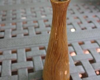 Bud Vase Wood Look 2412