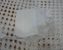The Colleen Irish Linen Magic Hanky Baby Bonnet