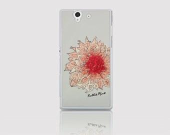 Sony Xperia Z Case -  Peony (D2120-Z(W))