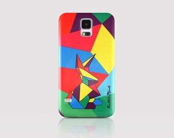 Samsung Galaxy S5 Case - Tangram Bunny (P00058)