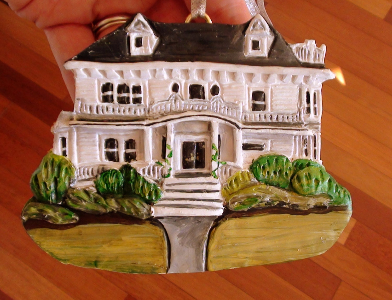 Custom Home Ornament Home Ornament Homeowner Gift Hostess