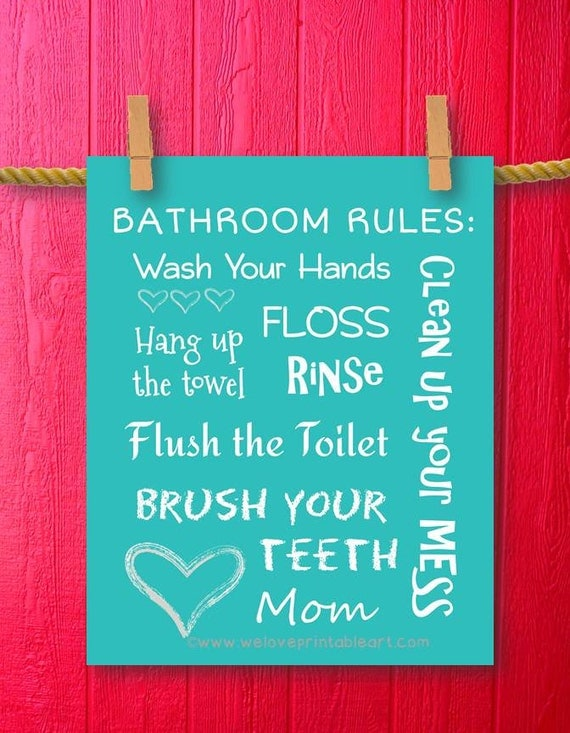 Bathroom sayings and quotes