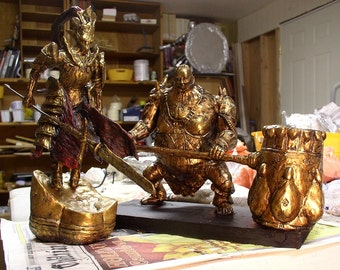 Dark Souls Ornstein & Smough statue set limited edition of 100
