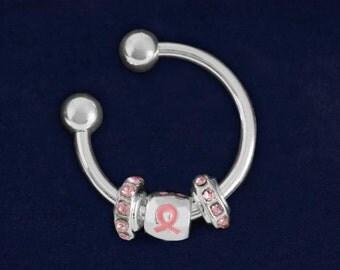Pink Ribbon Key Chain (RE-K-B47-1)