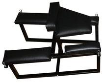 Spreader spanking bench