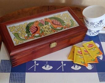 Pattern Celtic Teabox for Cross Stitch
