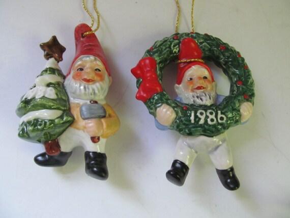 Goebel Co-Boy Christmas Ornaments 1986-1988